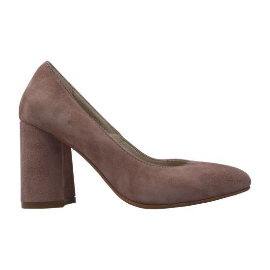 Туфлі жіночі Натуральна замша, колір капучіно