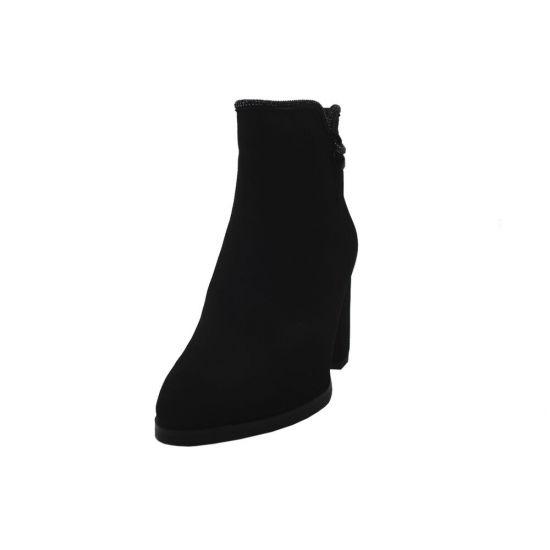 Ботильйони жіночі Velly Натуральна замша, колір чорний