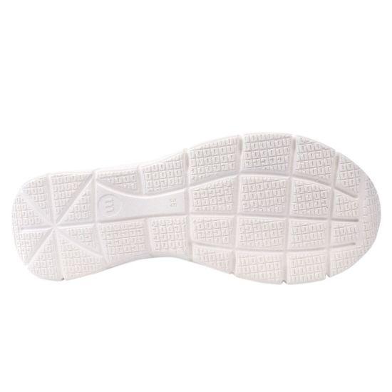 Кросівки жіночі з натуральної шкіри, на низькому ходу, на шнурівці, білі, Туреччина Mumin Dulun