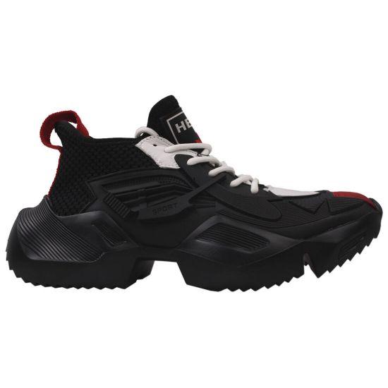 Кросівки чоловічі Arees Гумові, колір чорний
