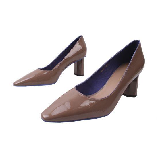 Туфлі жіночі Sasha Fabiani Лакова натуральна шкіра, колір візон