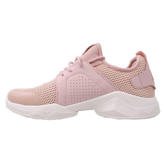 Кросівки жіночі Res Time Текстиль, колір рожевий