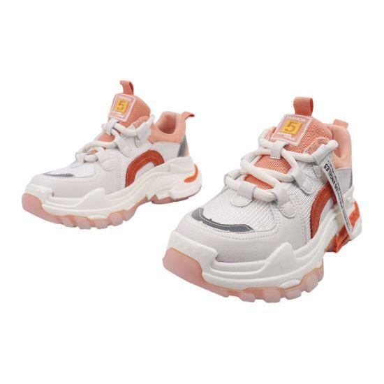 Кросівки жіночі з текстилю, на платформі, на шнурівці, білі, Gifanni