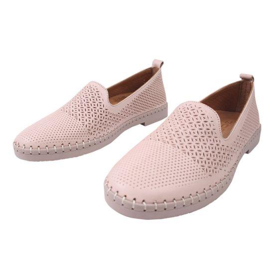 Туфлі жіночі Gossi натуральна шкіра, колір рожевий