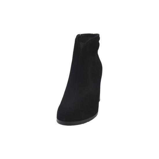 Ботильйони жіночі Натуральна замша, колір чорний 3-20DH
