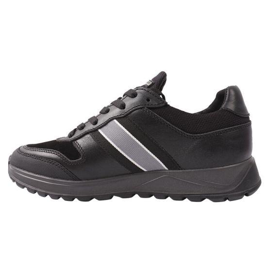 Кросівки чоловічі Konors натуральна шкіра, колір чорний