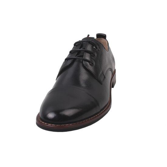 Туфлі комфорт жіночі Anemone натуральна шкіра, колір чорний