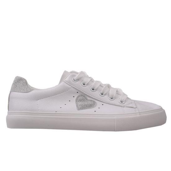 Туфлі спорт жіночі Renzoni натуральна шкіра, колір білий