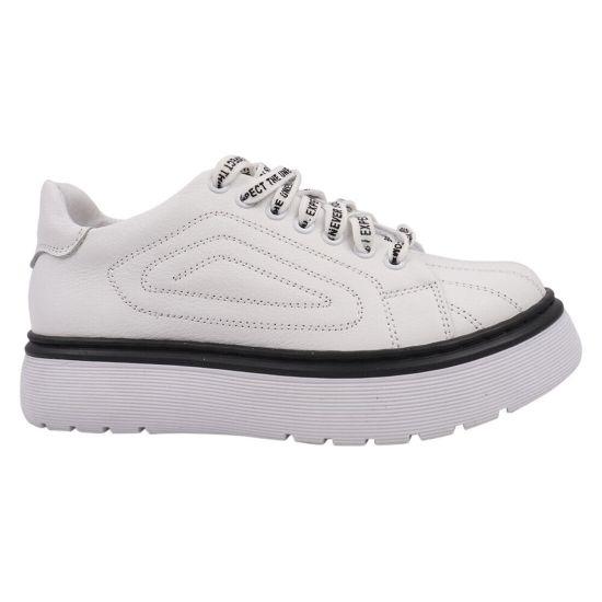 Туфлі спорт жіночі Masheros натуральна шкіра, колір білий