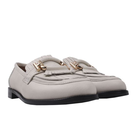 Туфлі жіночі Anemone натуральна шкіра, колір молочний