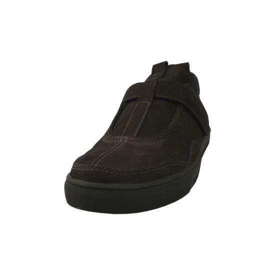 Туфлі спорт чоловічі Нубук, колір зелений