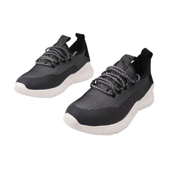 Кросівки чоловічі з текстилю, на низькому ходу, на шнурівці, колір сірий, Rondo