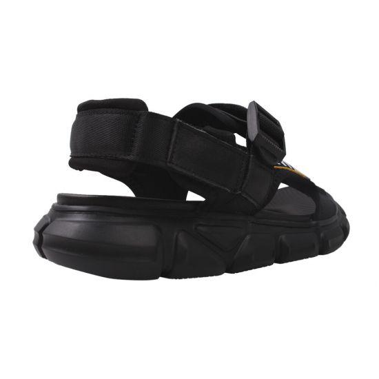 Босоніжки на низькому ходу чоловічі Li Fexpert Текстиль, колір чорний