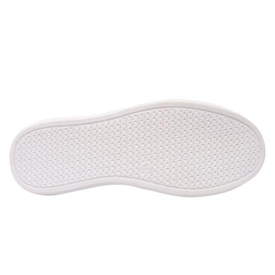 Кеди жіночі з натуральної шкіри, на низькому ходу, на шнурівці, колір білий, Туреччина Aquamarin