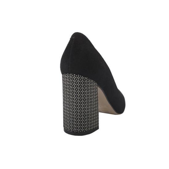 Туфлі Luca Cavali Натуральна замша, колір чорний