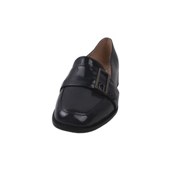 Туфлі жіночі Molka Лакова натуральна шкіра, колір синій