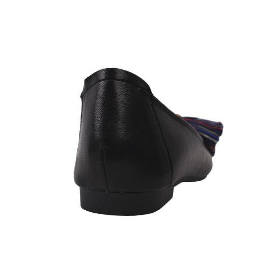 Туфлі комфорт жіночі Gelsomino еко шкіра, колір чорний
