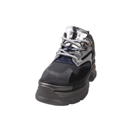Кросівки жіночі Gifanni Натуральна замша, колір сірий