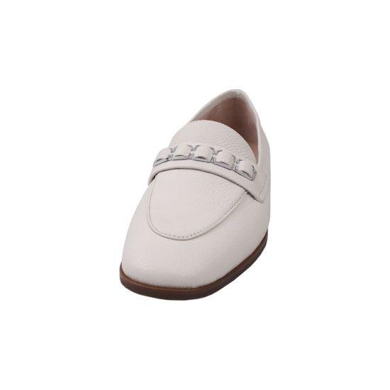 Туфлі жіночі натуральна шкіра, колір молочний