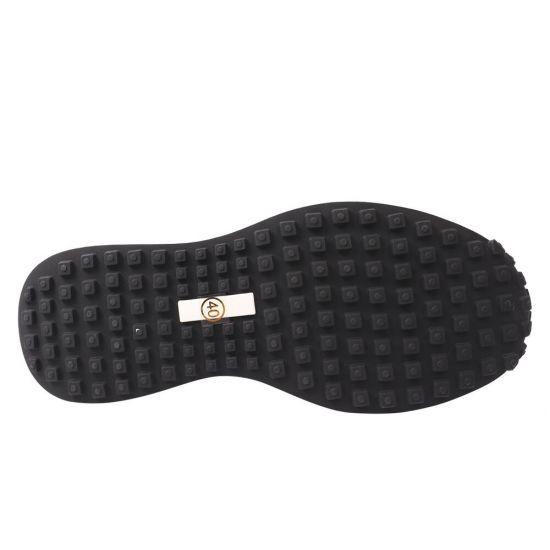 Кросівки чоловічі з текстилю, на низькому ходу, на шнурівці, колір чорний, Li Fexpert