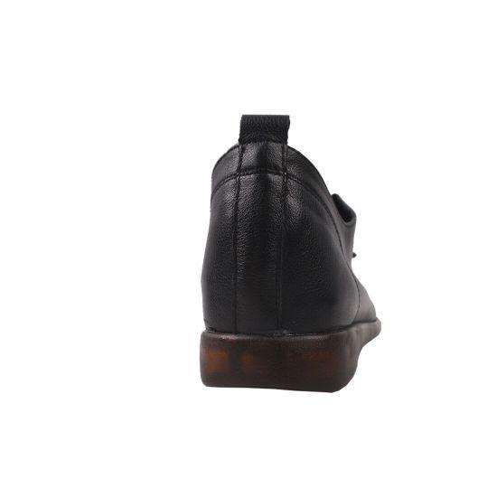 Туфлі спорт жіночі Farinni натуральна шкіра, колір чорний