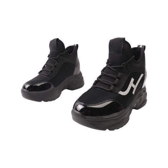Кросівки жіночі Vikonty Текстиль, колір чорний