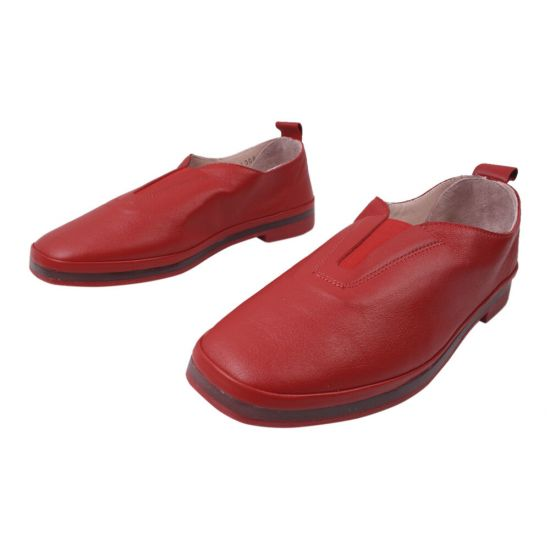 Туфлі жіночі Aquamarin натуральна шкіра, колір червоний