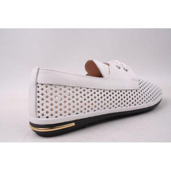 Туфлі жіночі Magnolya натуральна шкіра, колір білий